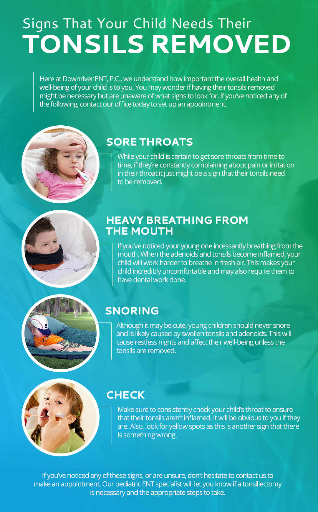 ENT Specialist in Southfield: Signs That Your Child Needs Their